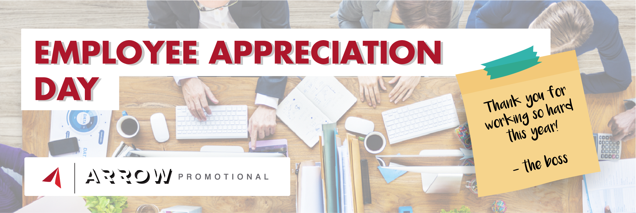 Arrow Promotional, Employee Appreciation Day, Employee Appreciation, Employees, Promotional Products, Corporate Gifts, Employee Gifts
